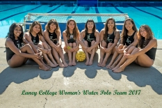 Laney College Women's Water Polo Team